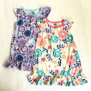2 Crazy 8 Short Sleeve Nightgowns